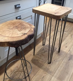 Tripod Bar Stools