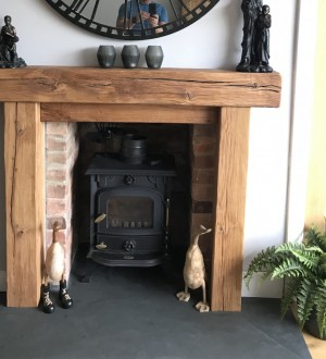 Rustic Fire Surround